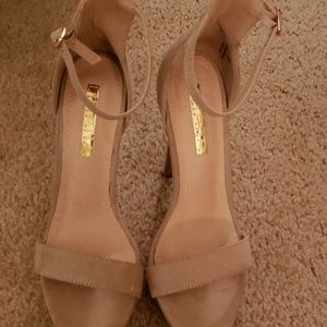 Nude heels. Only used once